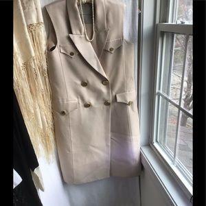 Ermanno Scervino silk cotton  coat dress